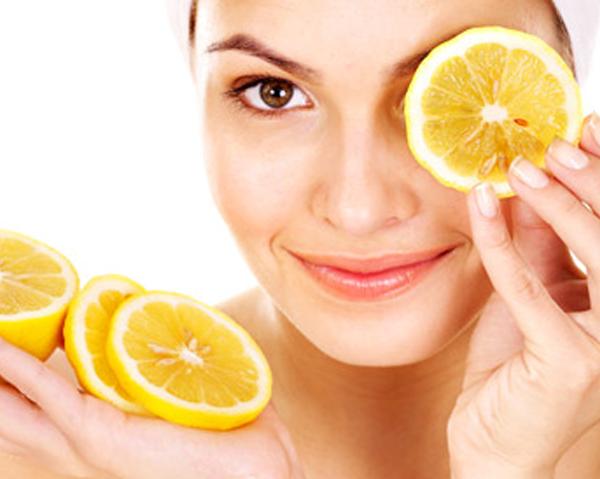 Citron och citronjuice bra till hudvård