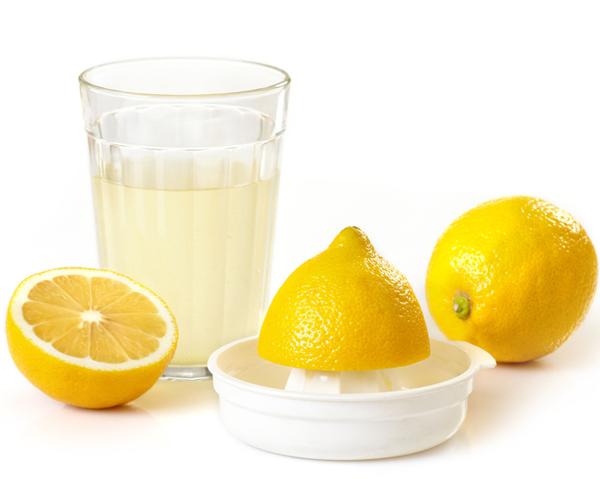 Pressad citron - citron sänker GI-värdet på måltiden