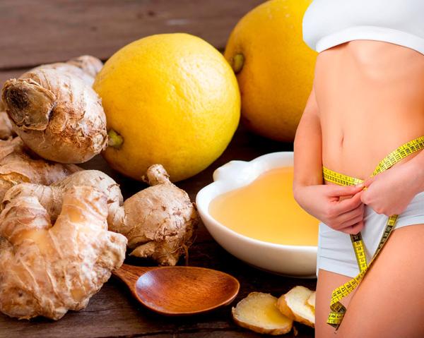 Citroner och ingefära kan ge viktminskning och plattare mage