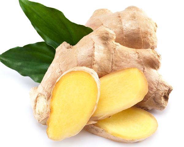 Ingefära - nyttigt och gott i citronvatten