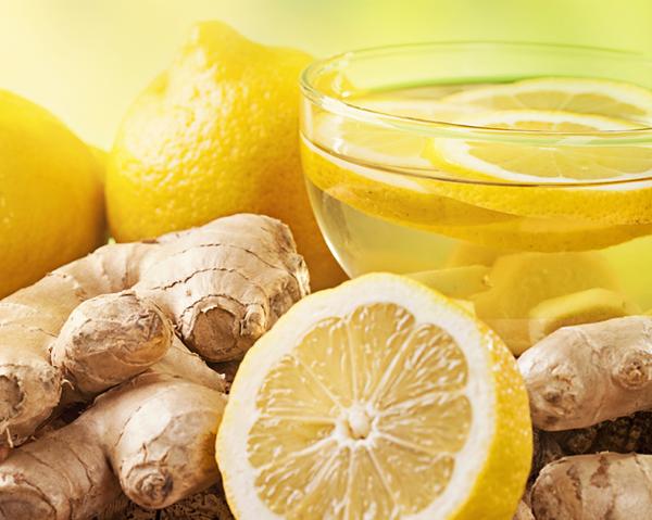 Citron och ingefära kan stärka immunförsvaret