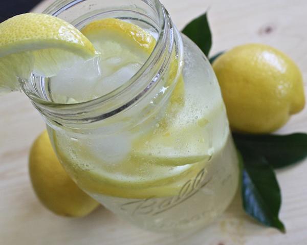 Citronvatten - populärt i hälsobloggar